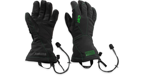 Outdoor Research M's Luminary Sensor Gloves 67C-Black / Flash